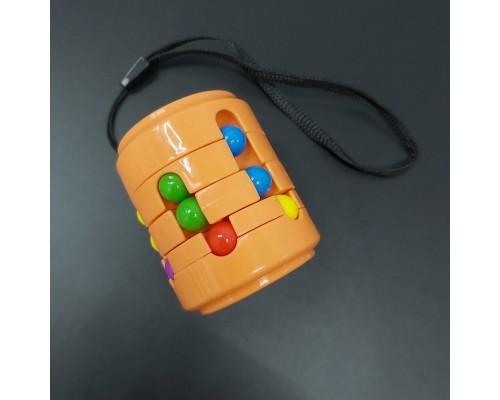 Головоломка антистресс Fidget Cans Cube Оранжевый