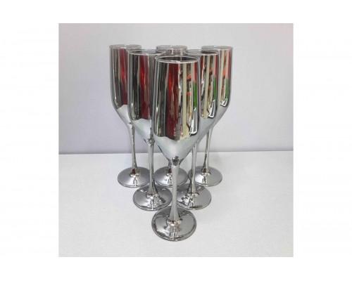 Набор бокалов Luminarc Celeste Shiny Graphite 160 мл для шампанского 6 шт 1564/1P LUM