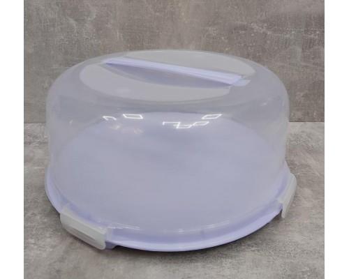 Тортовница с крышкой 34 х 15 см Алеана 169056
