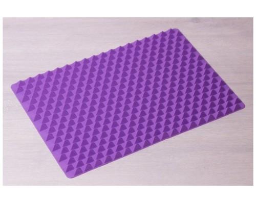 Коврик силиконовый для барбекю Kamille 7749, 41*28*1,5 см.