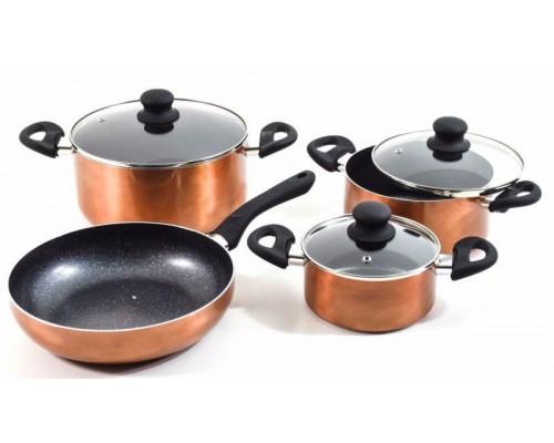Набор посуду Renberg 1225 из 7 предметов (сков.26*6.5 см, 16*7.5, 20*9,5, 24*11,5 см).