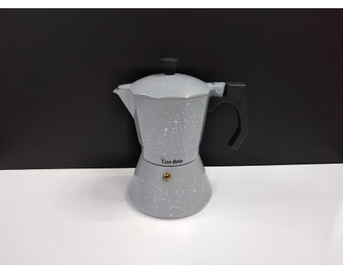 Гейзерная кофеварка Con Brio 300 мл CB-6706