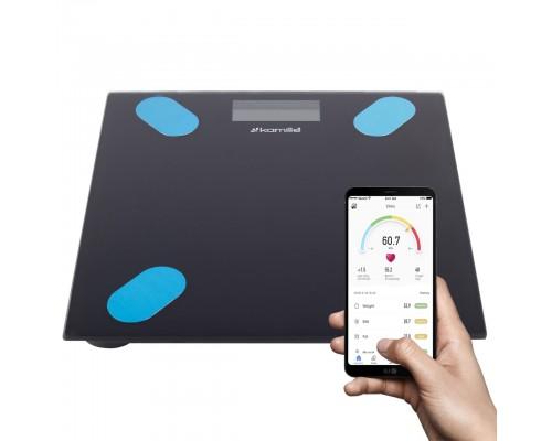 Умные весы smart напольные электронные Kamille KM-7111