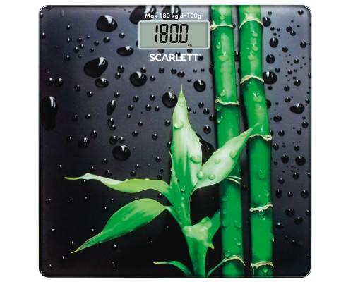 Весы напольные SCARLETT SC-BS33E051 (Бамбук)