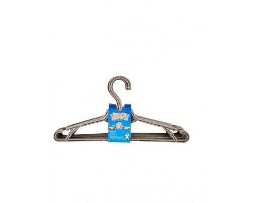 Вешалка для одежды детская 5 шт какао Алеана 121074 PM