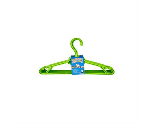 Вешалка для одежды детская 5 шт зеленый Алеана 121074 PM